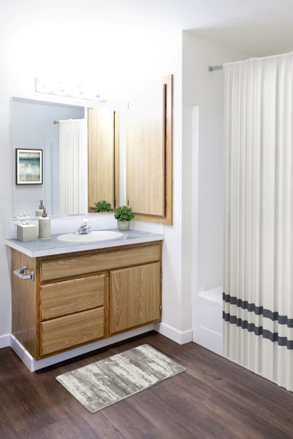 GoGo West Apartments 2 Bed Floor Plan Bathroom