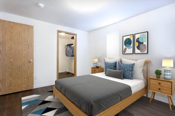 GoGo West Apartments Model Bedroom