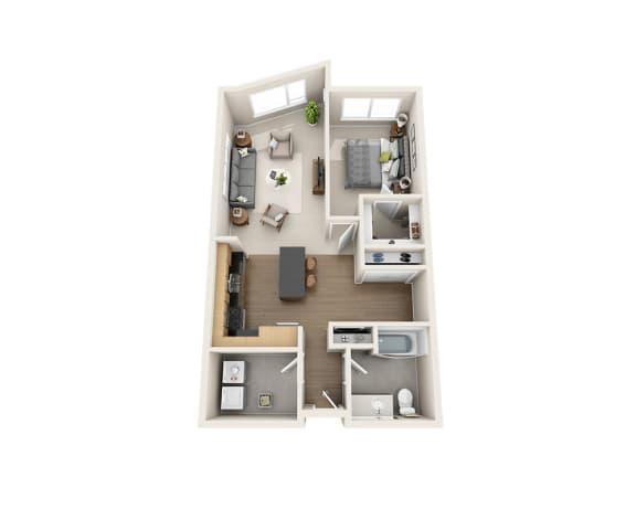 Floor Plan  A1BD