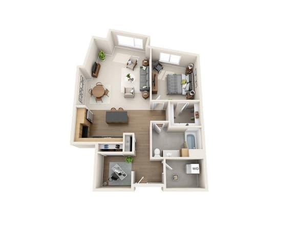 Floor Plan  A1CD