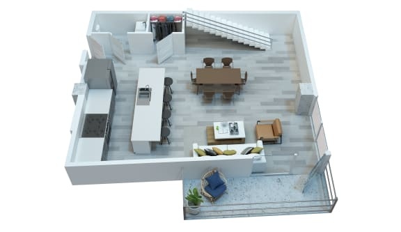 The Stewart apartments McCartney first floor layout