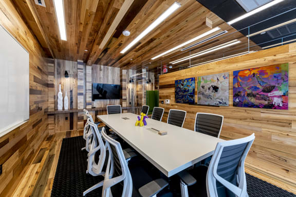 Mission Lofts Apartments Private Conference Room and Smart TV