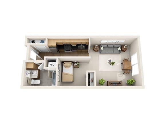 Floor Plan  E1D