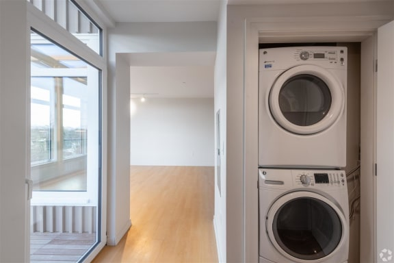Washer And Dryer In Unit at Park77, Cambridge, MA