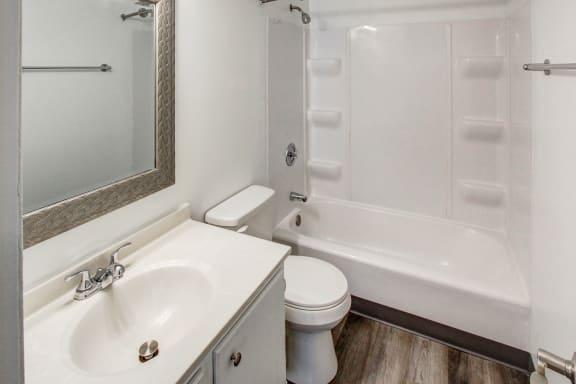 Upgraded Bathroom at Highland Club Apartments, New York