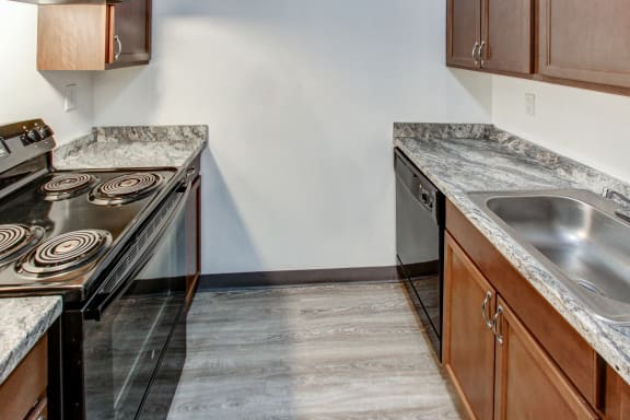 New Kitchen Counters at Highland Club Apartments, New York