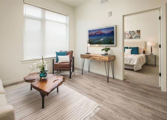 Comfortable Living Room at Clovis Point, Longmont, 80501