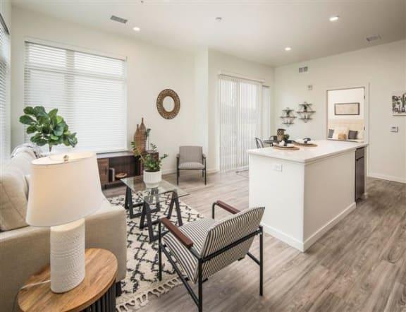 2 bedroom - 2  Floor Plan at Clovis Point, Longmont