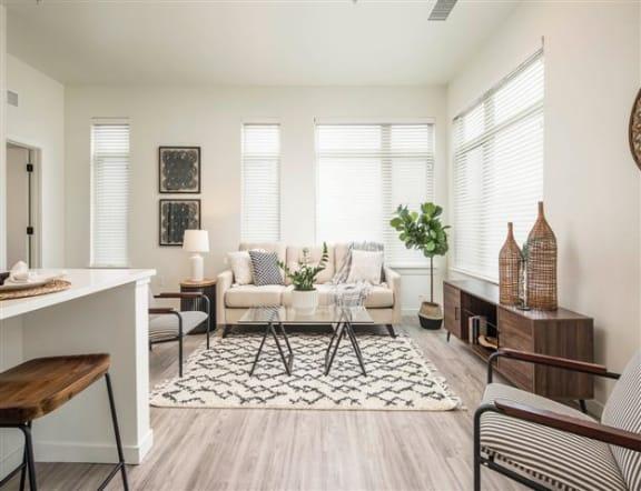 2 bedroom - 3 Floor Plan at Clovis Point, Colorado