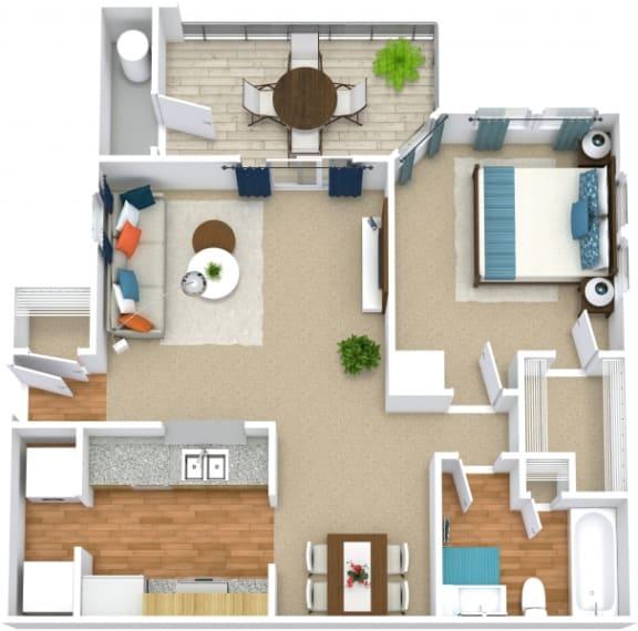 Floor Plan  A1C floorplan