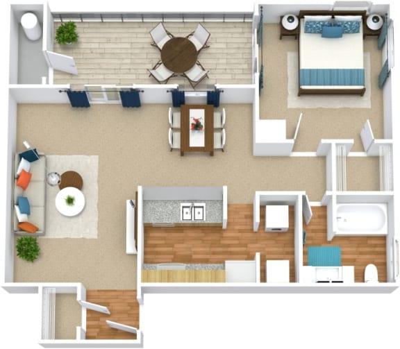 Floor Plan  A1D Floorplan