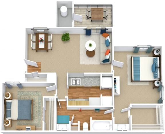 Floor Plan  B1A Floorplan