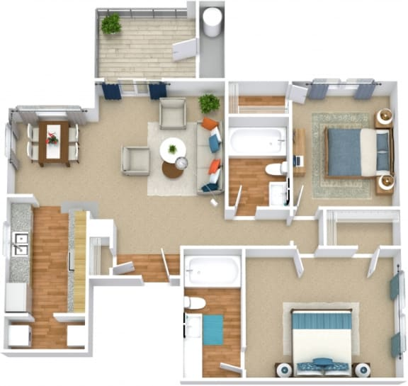 Floor Plan  B2A Floorplan