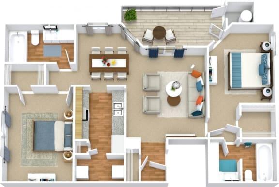 Floor Plan  B2B Floorplan