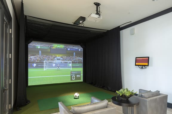 Virtual Golf and Sport Simulator at Integra Sunrise Parc, Kissimmee, FL, 34746