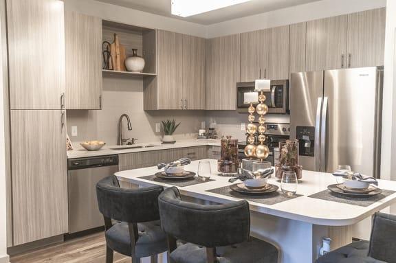 Granite Countertop Kitchen at Integra Sunrise Parc, Florida, 34746