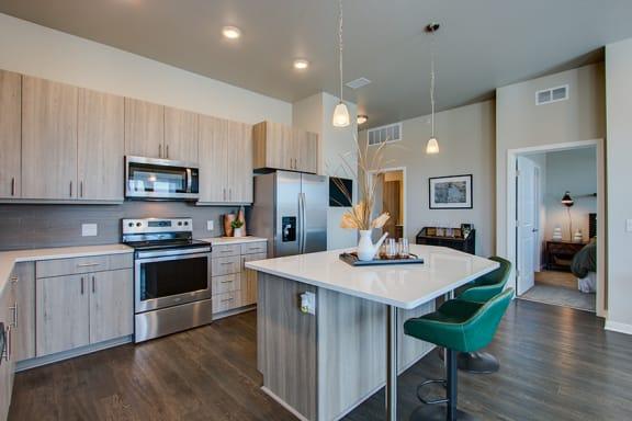 Rise at 2534 kitchen design