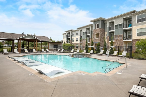 The Haven at Shoal Creek resort-style pool