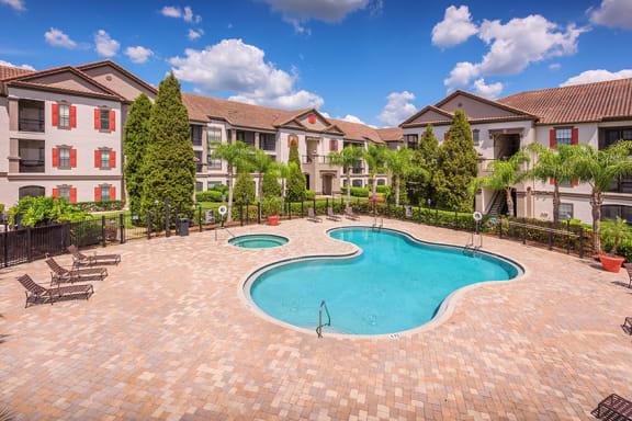 Delano at Cypress Creek resort-style pool and spa