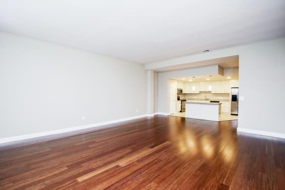 Harbor Hill Apartments wood style flooring