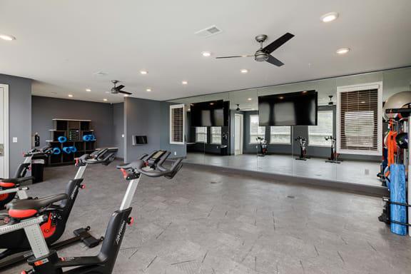 Element 25 apartments yoga spin studio