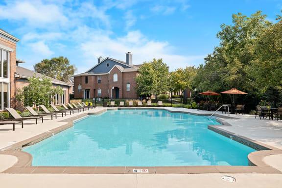 Weston Point Apartments resort-style pool