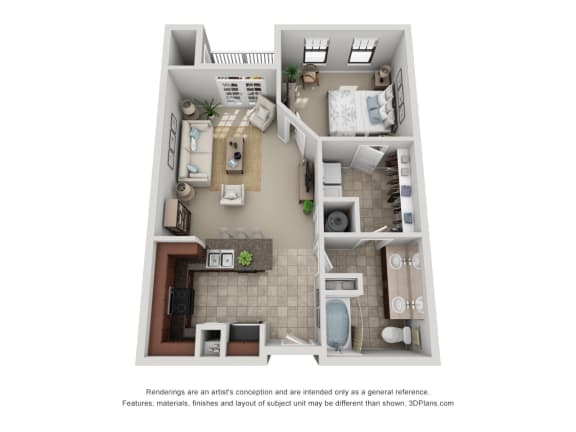Floor Plan  A3 Renovated