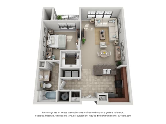 Floor Plan  A4 Renovated