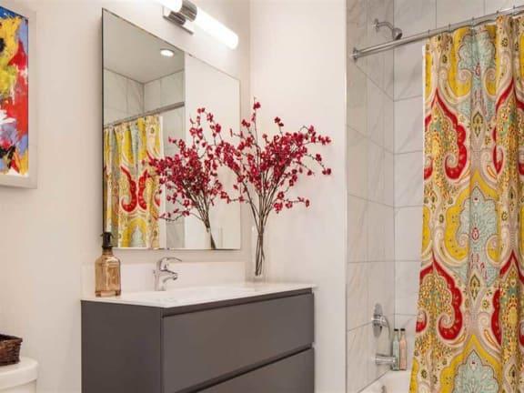 Designer Bathroom Suites at Eight O Five, Chicago, Illinois