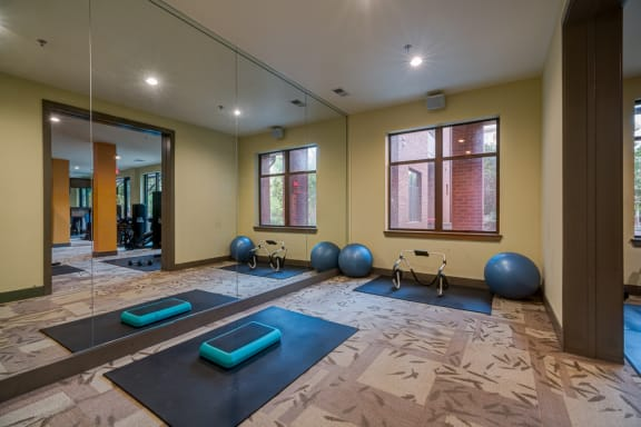 Yoga Studio at Eon at Lindbergh, Atlanta, Georgia