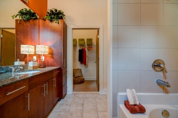 Luxurious Bathrooms at Eon at Lindbergh, Atlanta, GA