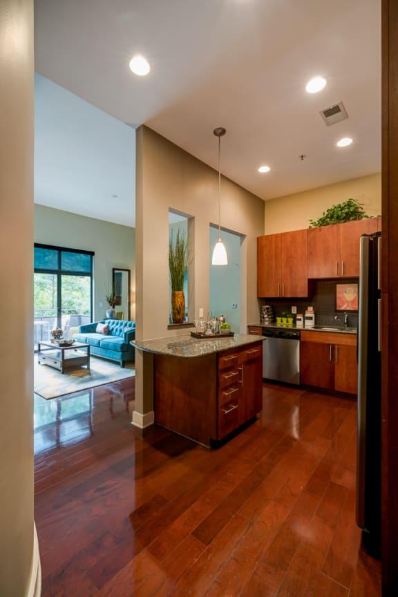 Modern Kitchen at Eon at Lindbergh, Georgia, 30324