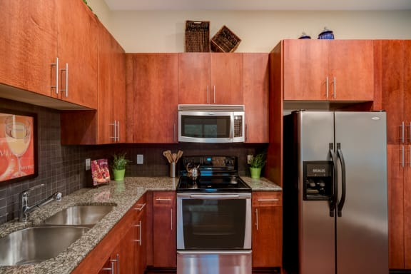 Fully Equipped Kitchen With Modern Appliances at Eon at Lindbergh, Atlanta, 30324