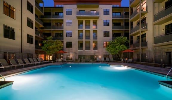 Night Pool at Eon at Lindbergh, Atlanta, GA, 30324