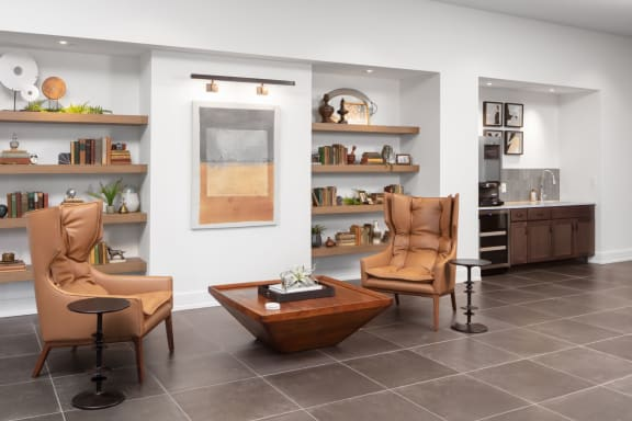 Des Plaines Luxury Apartments near Metra with Library Reading Nook  and Coffee Bar -Ellison Apartments 60016