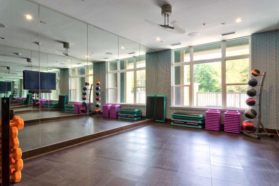 Yoga and Spin Studio at Berkshire Main Street, Durham, NC