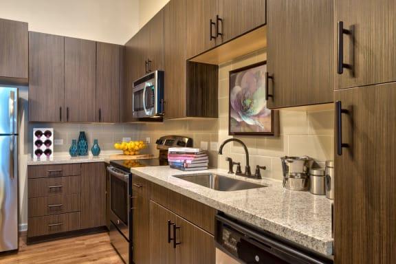 Fully Equipped Kitchen at Berkshire Main Street, North Carolina, 27705