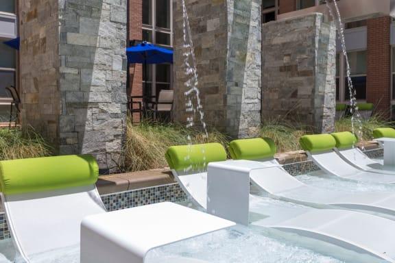 pool deck at Berkshire Chapel Hill, Chapel Hill, NC