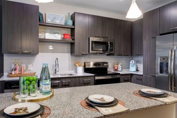 Granite Countertop Kitchen at Berkshire Chapel Hill, Chapel Hill, NC