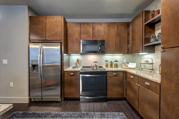 Modern Kitchen at Berkshire Auburn, Texas, 75248