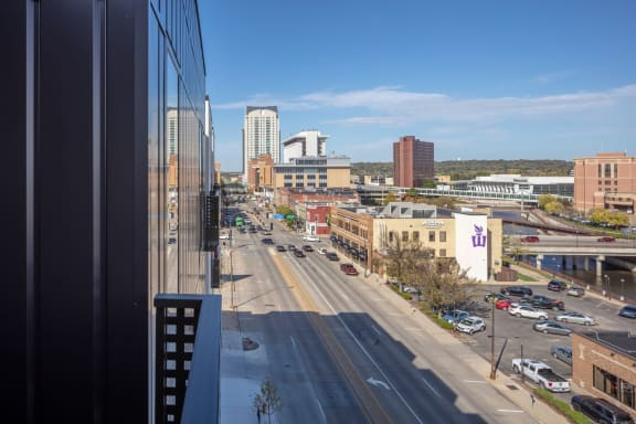Downtown Rochester's Newest Luxury Apartments with Balcony and Great City Views-The Maven on Broadway, Rochester MN, 55904
