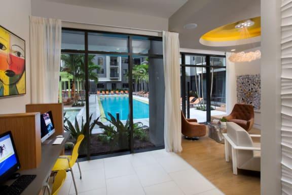 Pool View at Berkshire Coral Gables, Miami, FL