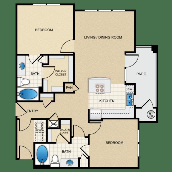 Berkshire Aspen Grove D1G Floorplan