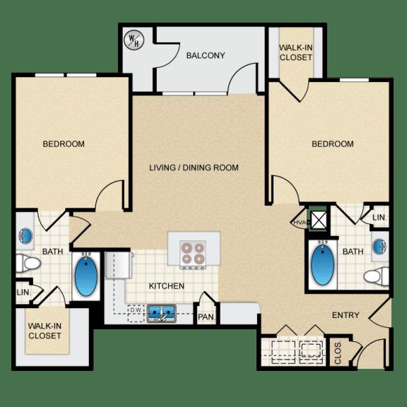 Berkshire Aspen Grove D2G Floorplan