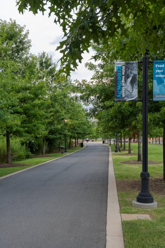 Greenway Street at Berkshire Dilworth, Charlotte, North Carolina
