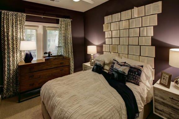 Decorated Bedroom at Berkshire Howell Mill, Atlanta, 30318