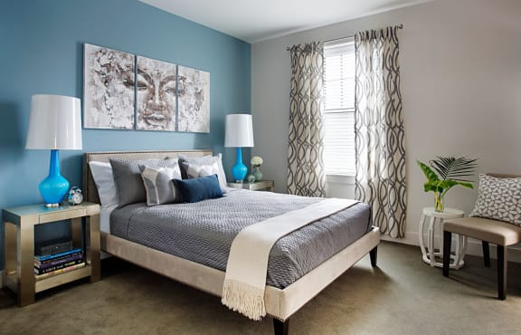 Large King and Queen Size Bedrooms with Abundant Closets at Gatehouse 75, Charlestown