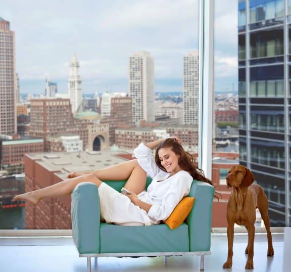 Boston Seaport Pet-Friendly Apartments 5 Fan Pier Boulevard, Boston MA 02210