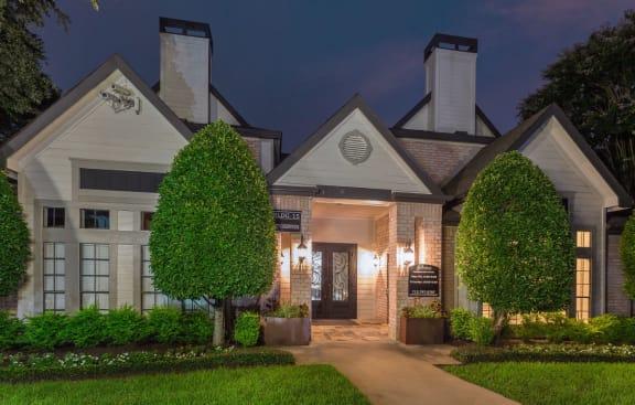 Elegant Exterior View at Greenbriar Park, Houston