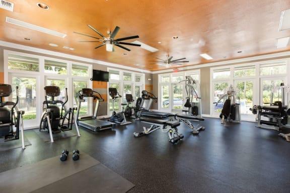 Cardio Studio Equipment at Fountains at Lee Vista, Florida
